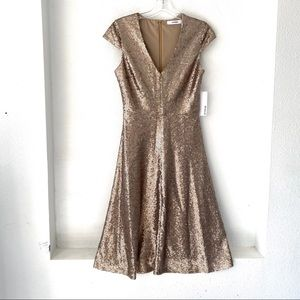 JUSTFAB Fit & Flare Sequin Dress NWT (S)